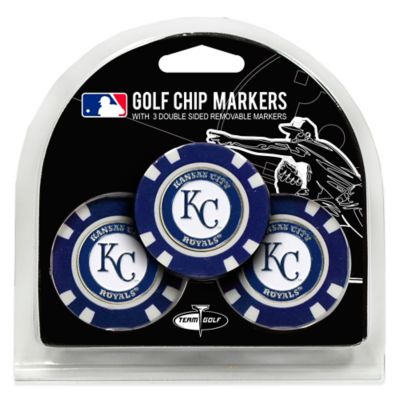 MLB Kansas City Royals Golf Chip Ball Markers (Set of 3)