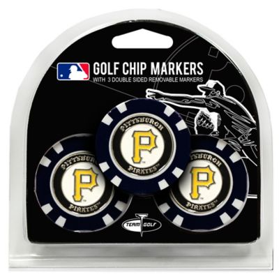 MLB Pittsburgh Pirates Golf Chip Ball Markers (Set of 3)