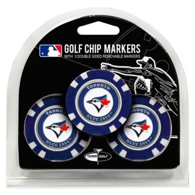 MLB Toronto Blue Jays Golf Chip Ball Markers (Set of 3)
