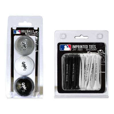 MLB Chicago White Sox Golf Ball and Golf Tee Pack