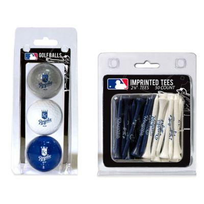 MLB Kansas City Royals Golf Ball and Golf Tee Pack