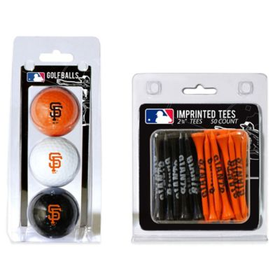 MLB San Francisco Giants Golf Ball and Golf Tee Pack