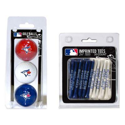 MLB Toronto Blue Jays Golf Ball and Golf Tee Pack
