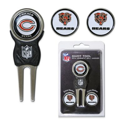 NFL Chicago Bears Divot Tool with Markers Pack
