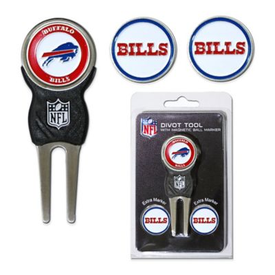 NFL Buffalo Bills Divot Tool with Markers Pack