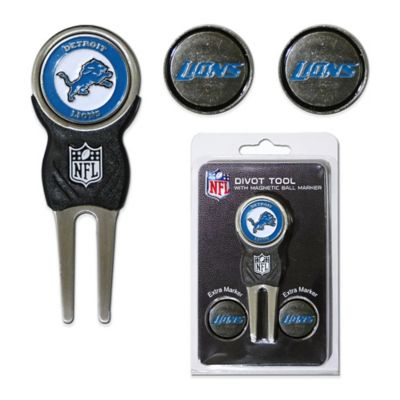 NFL Detroit Lions Divot Tool with Markers Pack