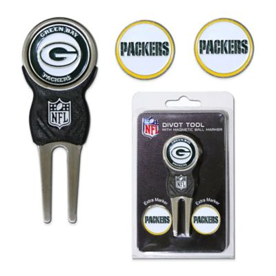 NFL Green Bay Packers Divot Tool with Markers Pack