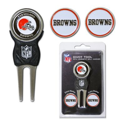 NFL Cleveland Browns Divot Tool with Markers Pack