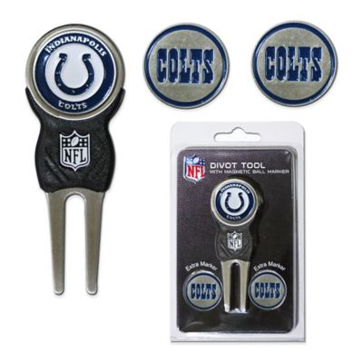 NFL Indianapolis Colts Divot Tool with Markers Pack