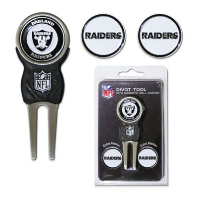 NFL Oakland Raiders Divot Tool with Markers Pack