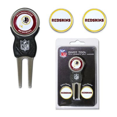 NFL Washington Redskins Divot Tool with Markers Pack