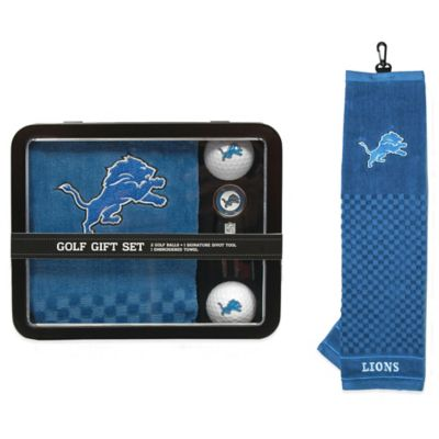 NFL Detroit Lions Golf Ball Gift Set