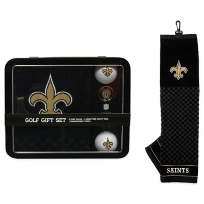 NFL New Orleans Saints Golf Ball Gift Set
