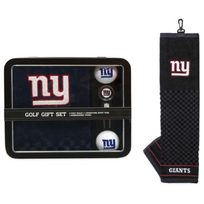 NFL New York Giants Golf Ball Gift Set