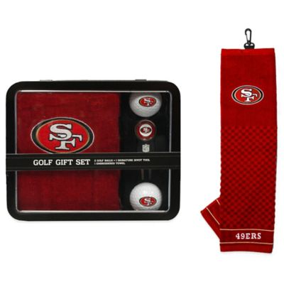 NFL San Francisco 49ers Golf Ball Gift Set
