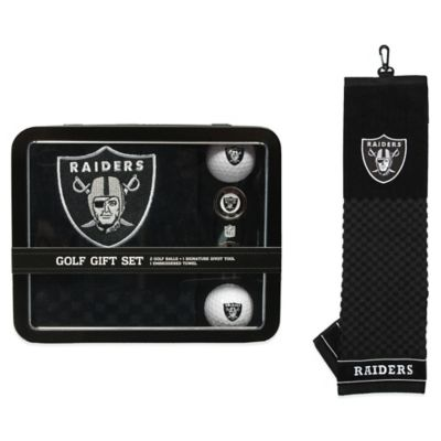NFL Oakland Raiders Golf Ball Gift Set