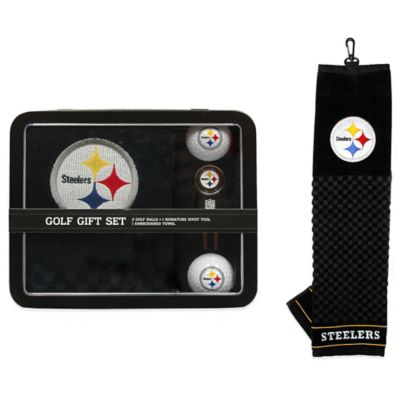 NFL Pittsburgh Steelers Golf Ball Gift Set
