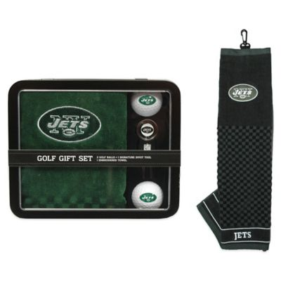 NFL New York Jets Golf Ball Gift Set