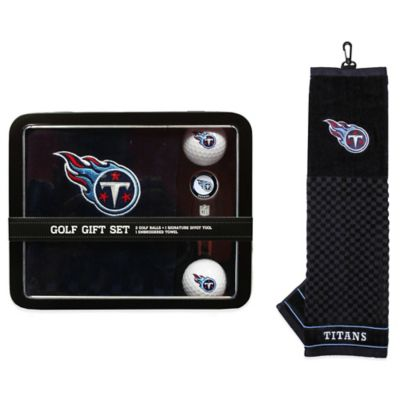 NFL Tennessee Titans Golf Ball Gift Set