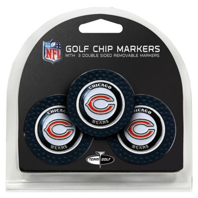 NFL Chicago Bears Golf Chip Ball Markers (Set of 3)