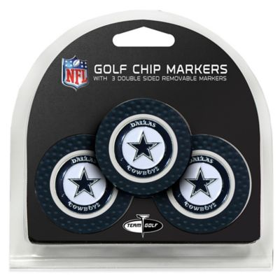 NFL Dallas Cowboys Golf Chip Ball Markers (Set of 3)