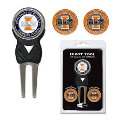 University of Illinois Divot Tool with Markers Pack