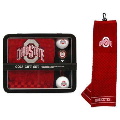 Ohio State University Golf Ball Gift Set