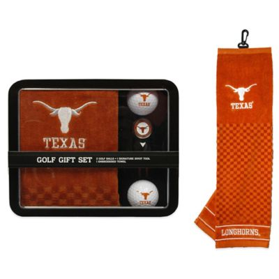University of Texas Golf Ball Gift Set