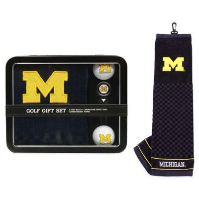 University of Michigan Golf Ball Gift Set