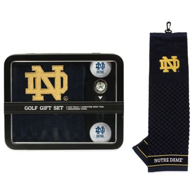 University of Notre Dame Golf Ball Gift Set