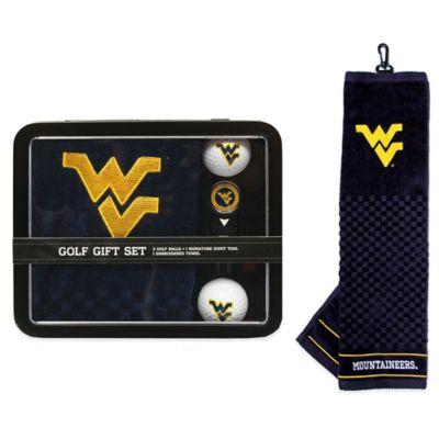 West Virginia University Golf Ball Gift Set