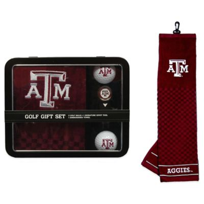 Texas A&M University Golf Ball Gift Set
