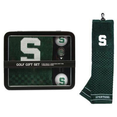 Michigan State University Golf Ball Gift Set
