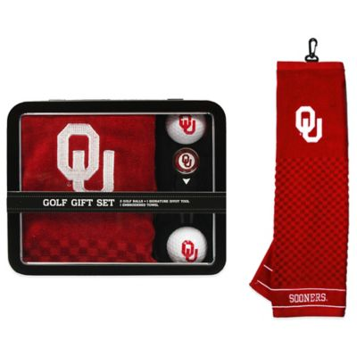 University of Oklahoma Golf Ball Gift Set