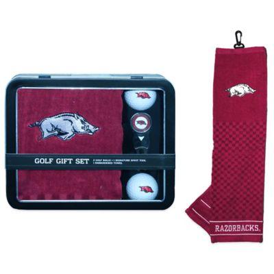 University of Arkansas Golf Ball Gift Set
