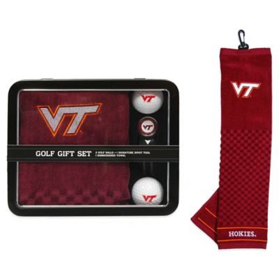 Virginia Tech Golf Ball Gift Set