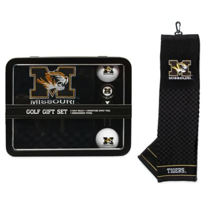 University of Missouri Golf Ball Gift Set