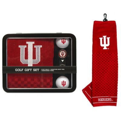 Indiana University Golf Ball Gift Set