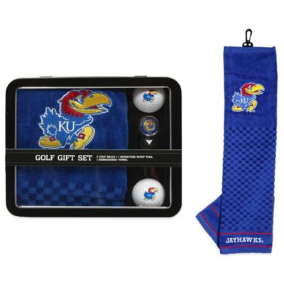 University of Kansas Golf Ball Gift Set