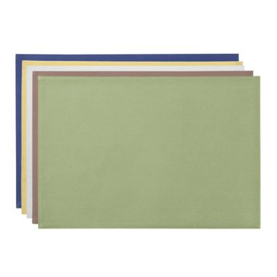 Green Oblong Placemat