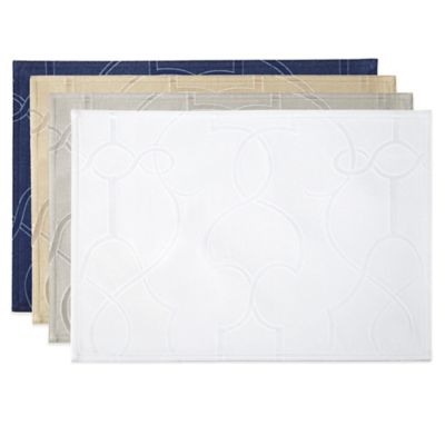 Waterford® Linens Marilla Centered Placemat in White