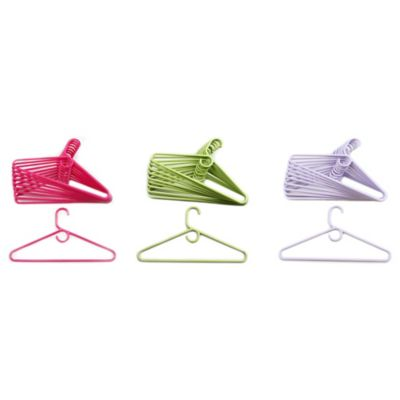 Merrick 72-Count Heavyweight Hangers in Lime Green
