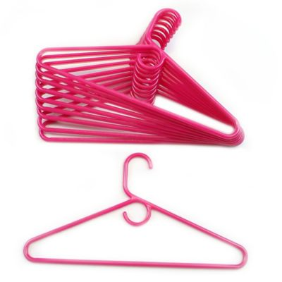 Merrick 72-Count Value Pack Heavyweight Hangers in Pink