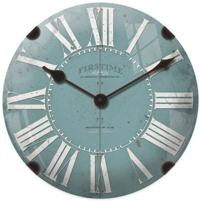 Teal Clocks
