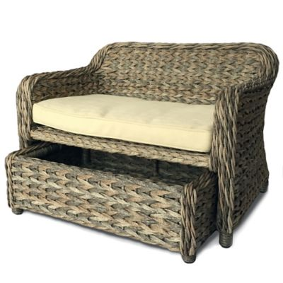 Royal Indoor / Outdoor Wicker Pet Daybed