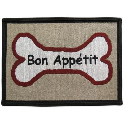 PB Paws by Park B. Smith Bon Appétit 19-Inch x 13-Inch Pet Mat in Multi