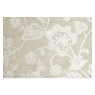 Waterford® Linens Adelisa Placemat in Beige