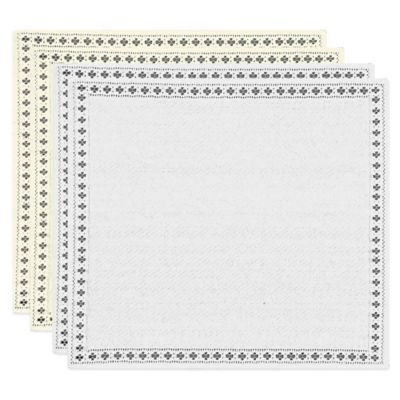 Heritage Lace® Canterbury Classic Napkin in White (Set of 2)