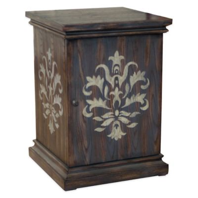 Pulaski York Chairside Table and Storage Cabinet