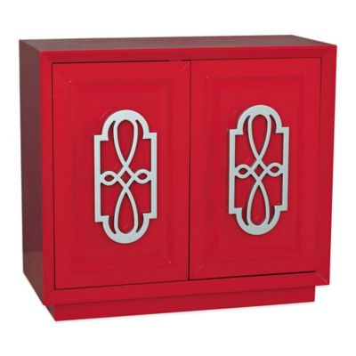 Pulaski Lowell Accent Chest in Red Finish
